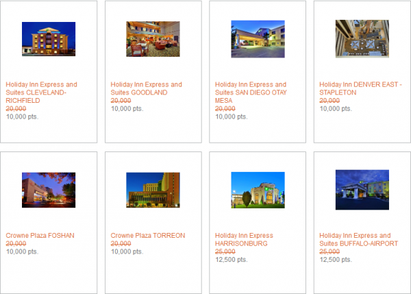 IHG Rewards Club Last Minute Reward Nights May 2014 3
