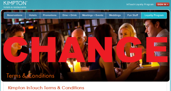 Kimpton InTouch Terms and Conditions Change April 2014