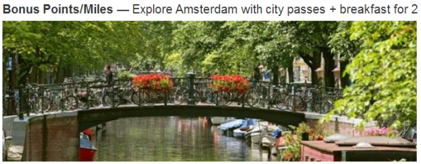 Marriott Rewards Amsterdam Weekend Promo March 26 June 5 2014