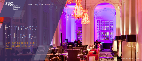 SPG Earn Away Get Away Promotion May 1 July 31 2014
