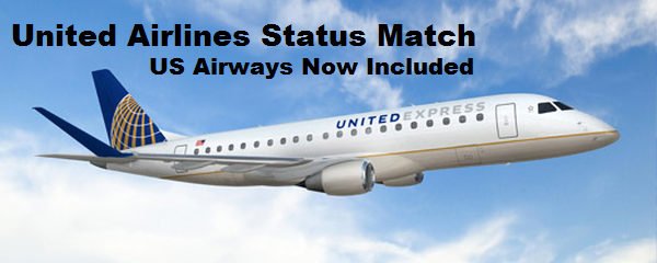 United Airlines MileagePlus Status Match