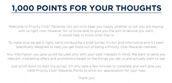 priority-club-welcome-survey