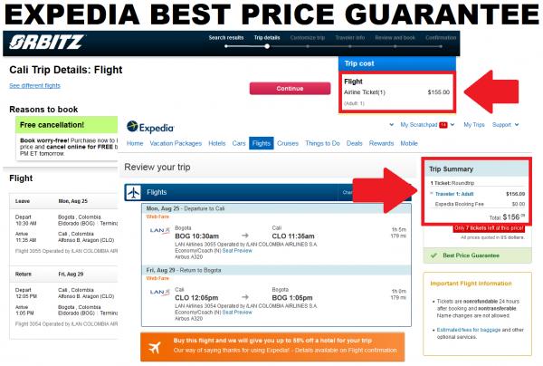 Expedia Best Price Guarantee Orbitz Vs. Expedia