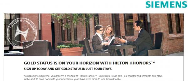 Hilton HHonors Siemens