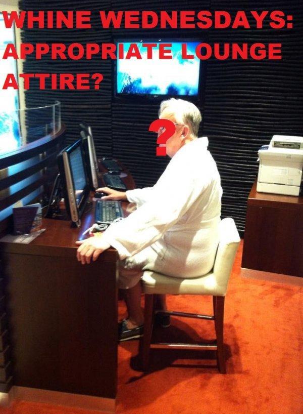 Whine Wednesdays Lounge Attire