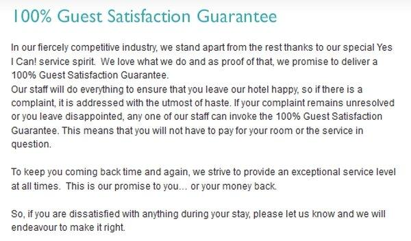 compensation-clinic-radisson-blu-sharjah-100-satisfaction-guarantee