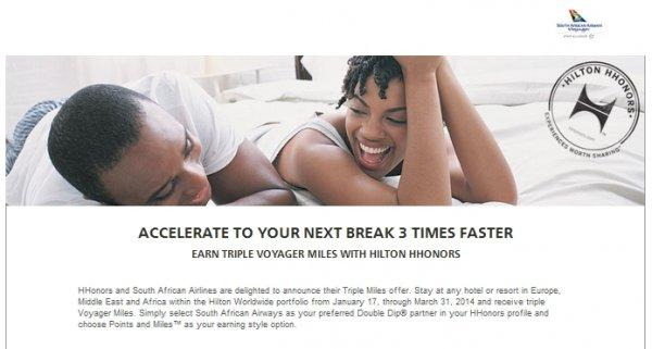 hilton-hhonors-south-african-airlines-triple-miles-offer-2014