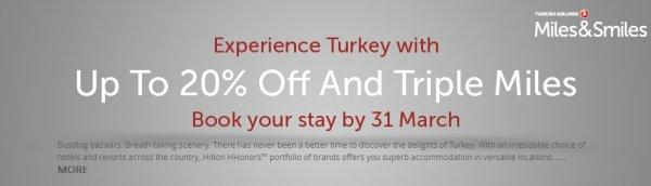 hilton-hhonors-turkish-airlines-turkey-sale-triple-miles