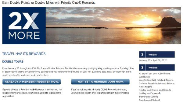 intercontinental-hotels-group-1q-2012-promotion-double-points-or-miles