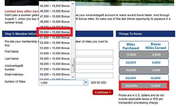 american-airlines-buy-miles-july-2013-offer-bonus