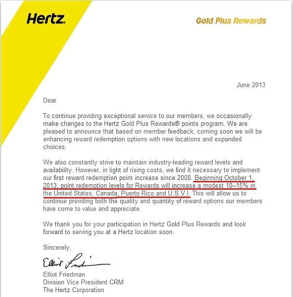 hertz-gold-plus-rewards-deval-announcement