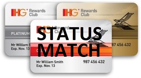 IHG Rewards Club Gold & Platinum Status Match | LoyaltyLobby