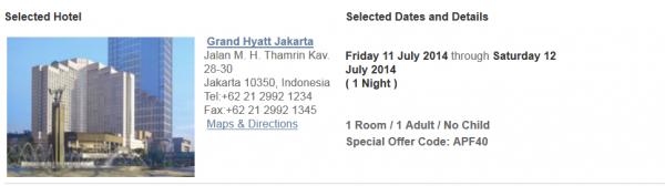 Hyatt Gold Passport Golden Window Of Opportunity Asia 40 Off Flash Sale Grand Hyatt Jakarta