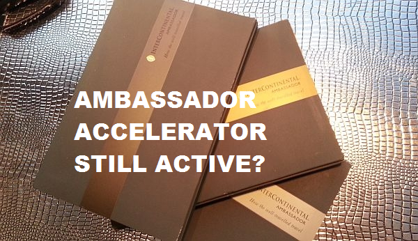IHG Rewards Club Ambassador Accelerator