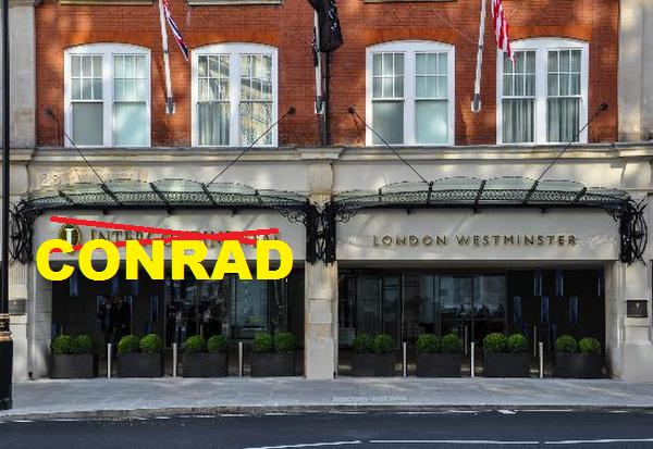 InterContinental London Westminster Conrad