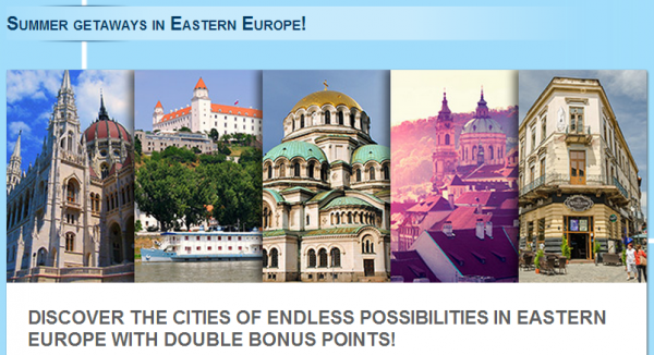 Le Club Accorhotels Eastern Europe Double Points July 15 September 14 2014