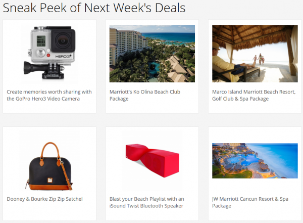 Marriott FlashPerks Week 1 July 17 2014 Sneak Peek