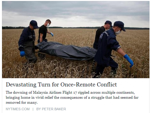 NYTimes MH17