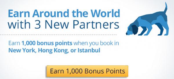 PointsHound Partners 1,000 Bonus Points