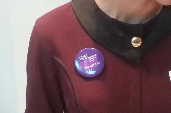 SPG 15 Years Awareness Week Pin