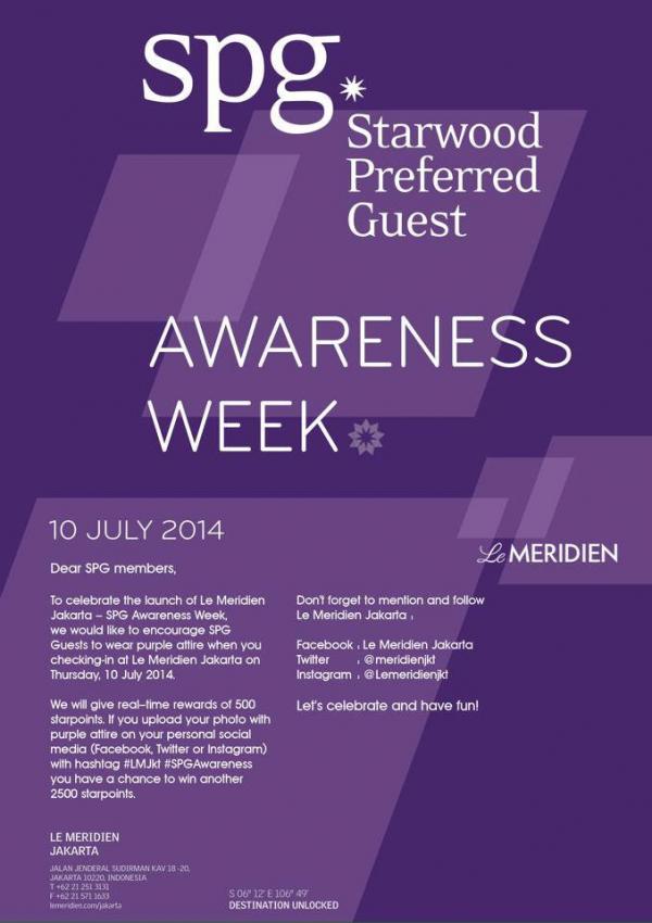 SPG Awareness Week LM Jakarta