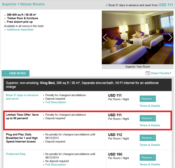 Starwood Asia Pacific Red Hot Deals Thailand Cambodia Vietnam Le Meridien Angkor