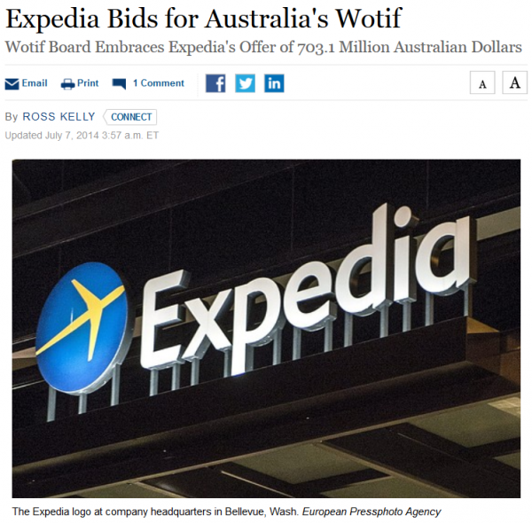 WSJ Expedia Whatif