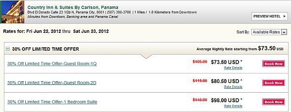 club-carlson-country-inn-panama-sale