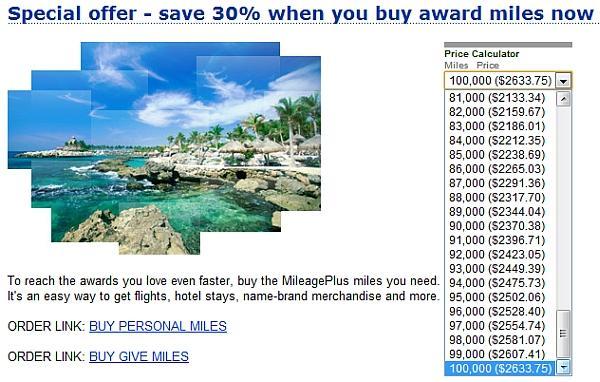 united-airlines-mileage-plus-30-discount