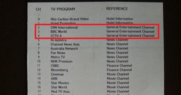 ritz-carlton-mega-kuningan-tv-channel