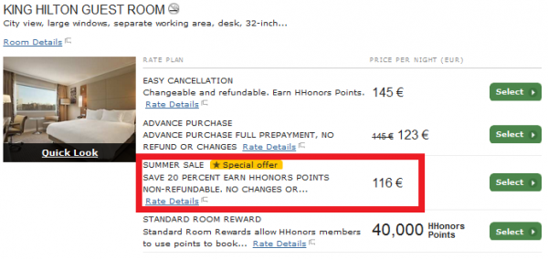Hilton Europe Middle East Africa Summer Sale 2014 Hilton Barcelona