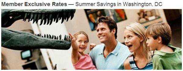 Marriott Rewards Washington DC Summer Offer