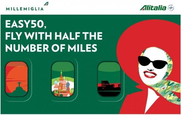 Alitalia Millemiglia 50 Off Destinations Spring 2014