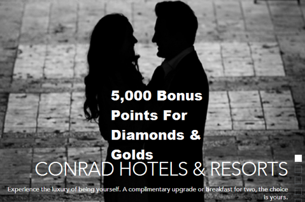 Conrad Luxury Being Yourself Rate Offer