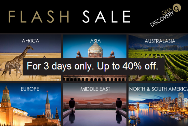 GHA Flash Sale March 2014