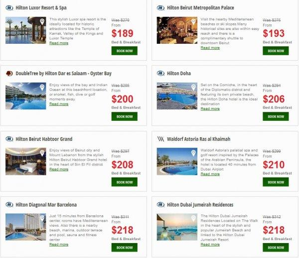 Hilton Europe Middle East Africa Resort Sale 7