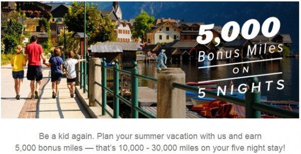 Rocketmiles Summer 2015 Booking Bonus