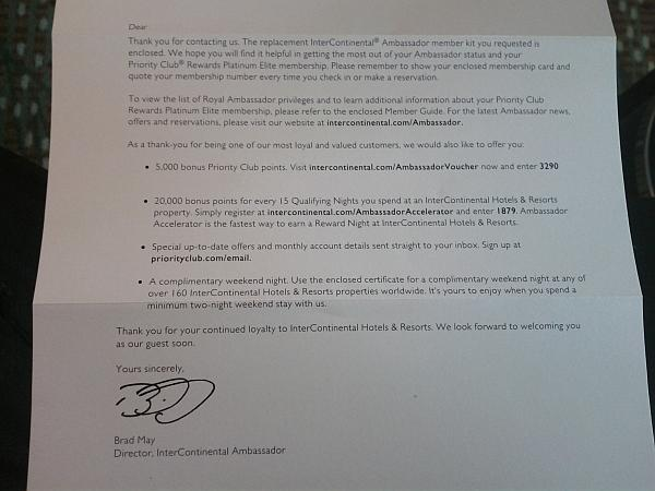 intercontinental-royal-ambassador-letter
