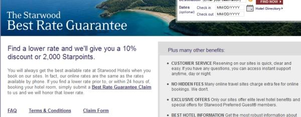 starwood-best-rate-guarantee