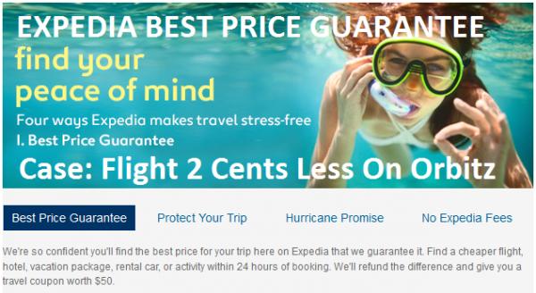 Expedia Best Price Guarantee Graphic