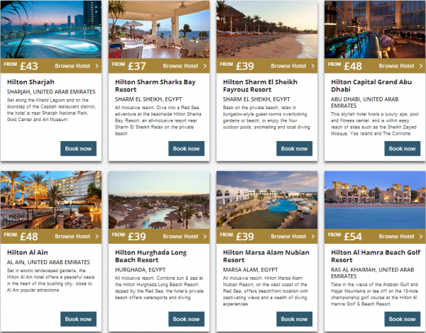 Hilton Middle East Summer Sale 2014 Properties 2