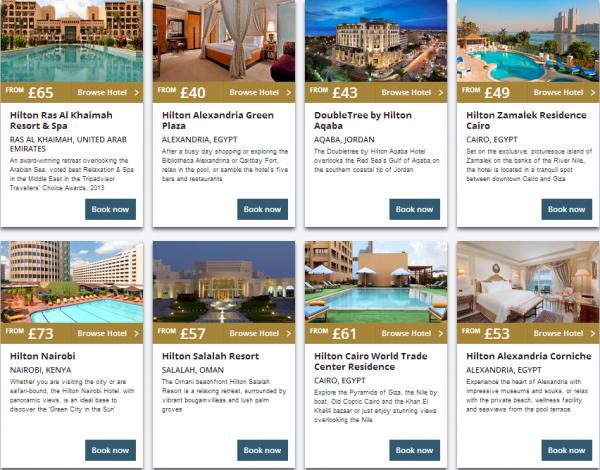 Hilton Middle East Summer Sale 2014 Properties 4