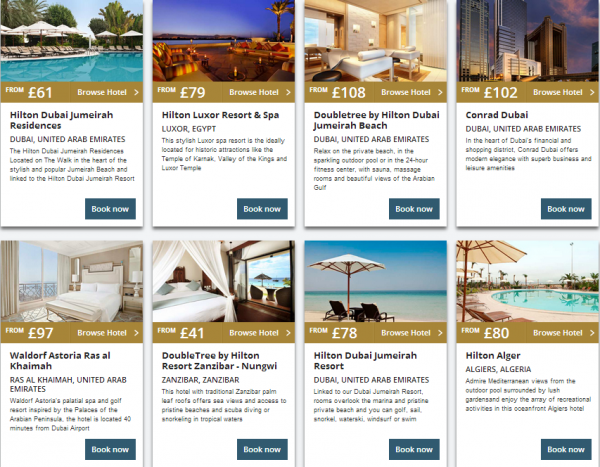 Hilton Middle East Summer Sale 2014 Properties 7