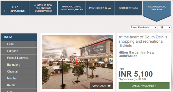 HiltonHotelDeals Southeast Asia Maldives India Sri Lanka