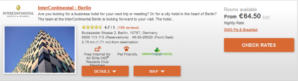 IHG Europe Summer 2014 50 Percent Off July 18 September 28 2014 IC Berlin