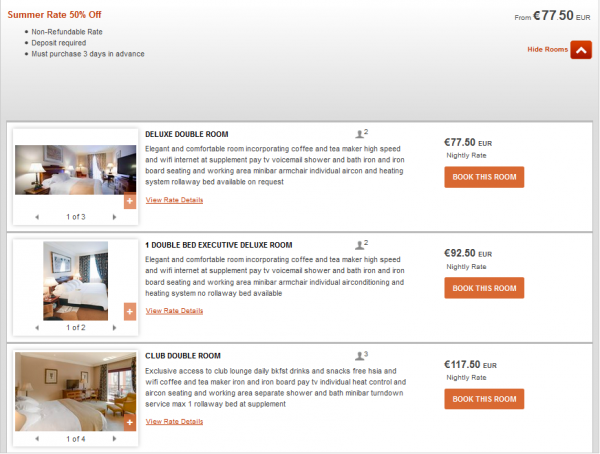 IHG Europe Summer 2014 50 Percent Off July 18 September 28 2014 IC Madrid Rates