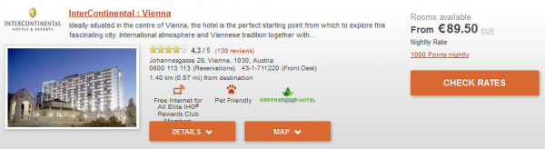 IHG Europe Summer 2014 50 Percent Off July 18 September 28 2014 IC Vienna