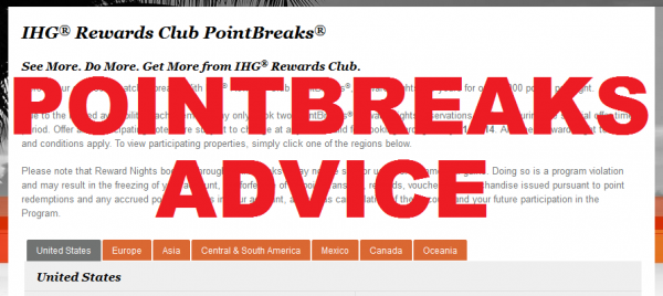 IHG Rewards Club Advice May 27