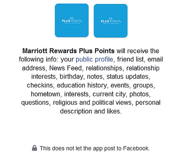 Marriott Rewards Plus Points FB