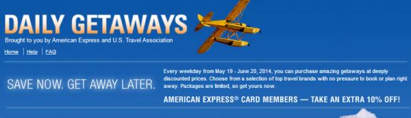 US Travel Association Daily Getaways